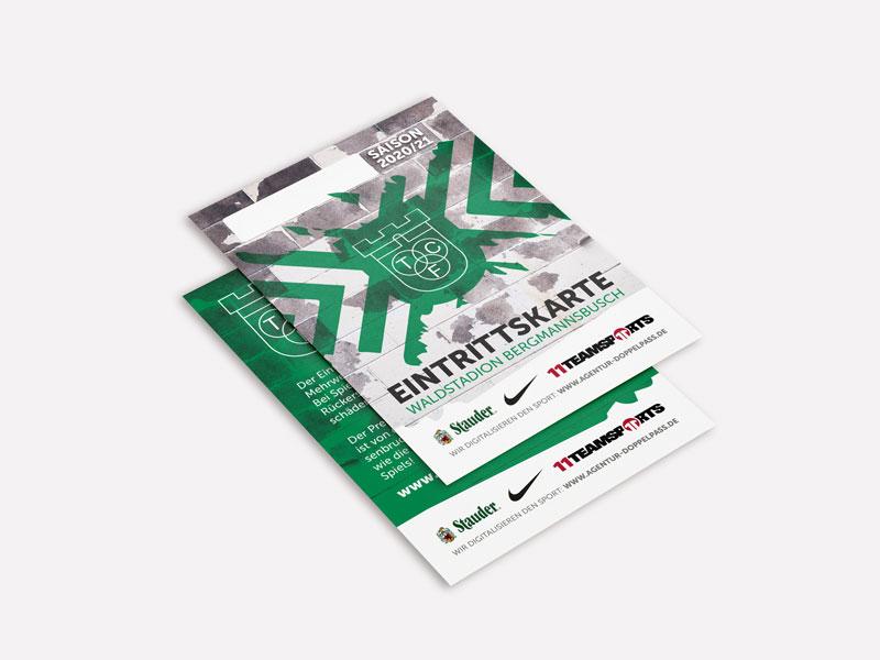 TC Freisenbruch Eintrittskarte 2020