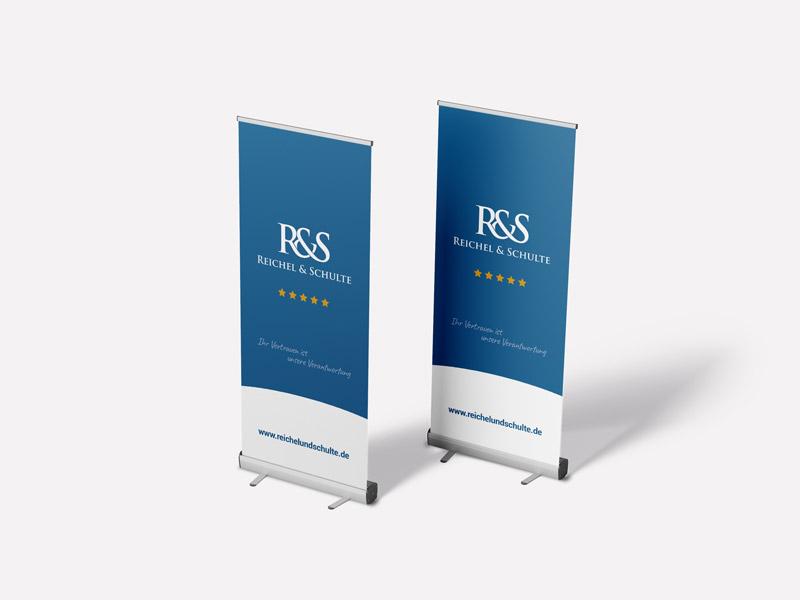Reichel & Schulte Roll-Up Banner