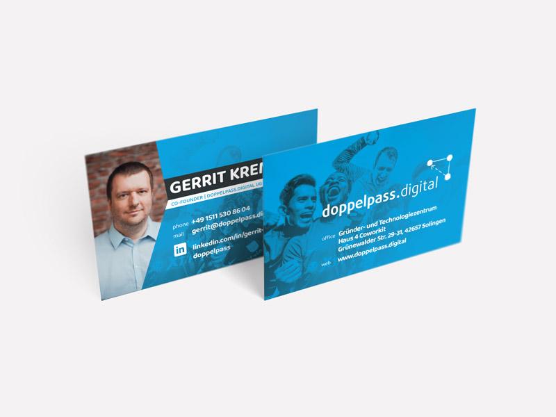 Doppelpass Digital Visitenkarten