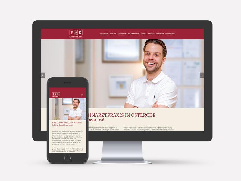 Dr. Fornefett Webseite