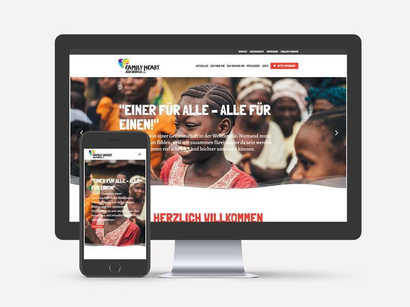 Family-Heart-Aid World Webseite