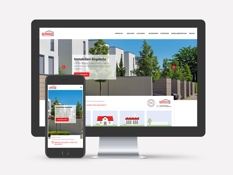 Sergios Immobilien Webseite